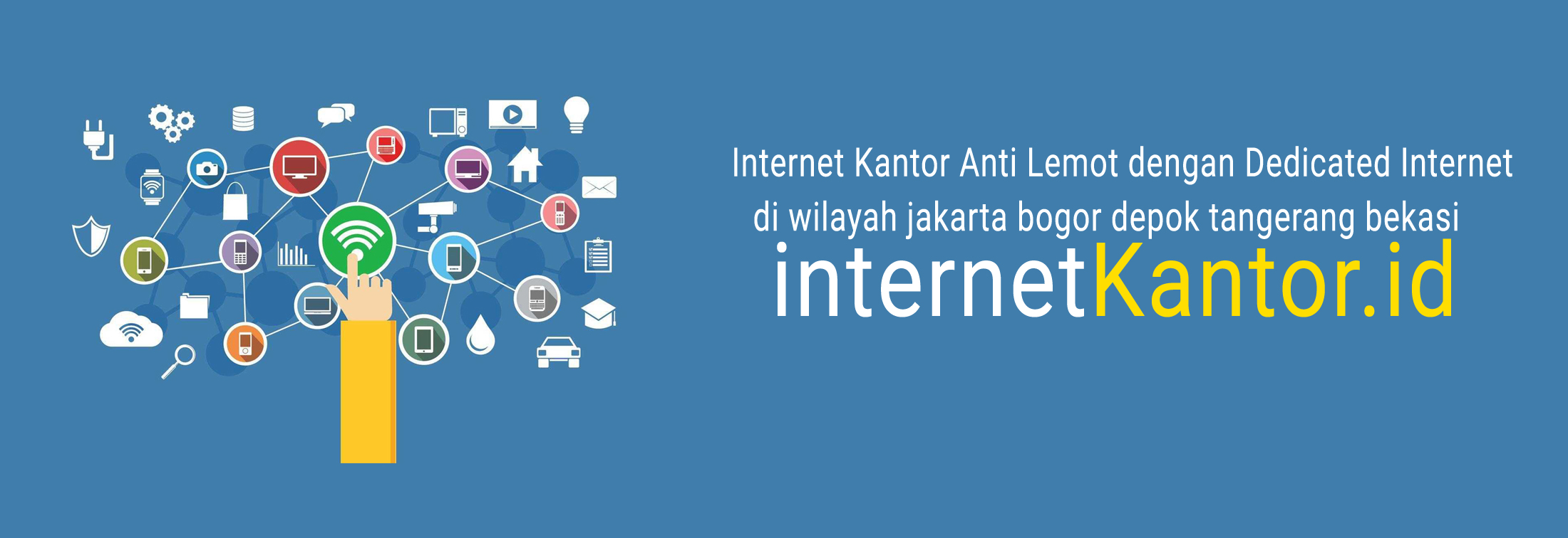 Internet Kantor Anti Lemot dengan Dedicated Internet
